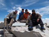 Squatch, Nathalie, Aaron, and Zack on Whitney