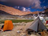 Camp at Guitar Lake 2