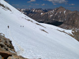 Snowfields on North side of Forrester