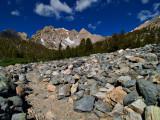 climbing Kearsarge Pass