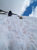 Steep snow glenn pass