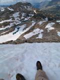 Descending glenn pass