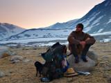 Zack at Upper Basin