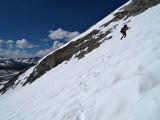 Zack Climbing Mather pass