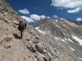 Top of Mather Pass