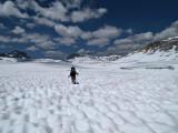 Miles of snow