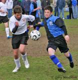 JDF U-15 Gold Soccer game