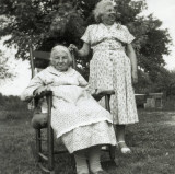 Julia Ann Warden Coon and Dora Coon Laws