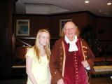 Katie and Ben Franklin