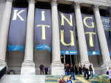 King Tut artifacts at the Franklin Institute