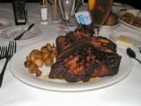 Shula's 48 oz. Steak (before)