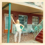 At Goldston Motel: c.1968