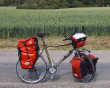 166  Sjoerd - Touring through France - Gary Fisher Kai Tai touring bike