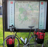 176  Mike - Touring Through Germany - Trek 520 touring bike
