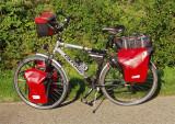 203  Nick - Touring Belgium - Oxford Rainbow touring bike