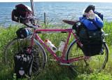 204  Steve - Touring Minnesota - Curt Goodrich Touring touring bike