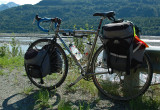 206  Jean - Touring Alaska - Seven Muse touring bike