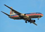 N905AN American Airlines Boeing 737-800