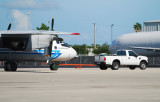 An-26 in tow behind Fodr pickup truck in Miami (!)