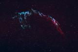 Network Nebula thru OIII&Ha Filters