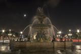 Fontaine place de la concorde à Paris