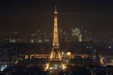 Tour Eiffel and La Défense
