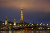 Tour Eiffel  -  Touching the clouds