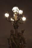 Alexandre III bridge lights