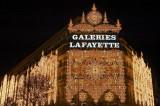 Galeries Lafayette christmas lights