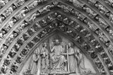 Notre-Dame doors close up
