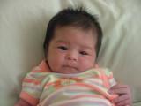 Grand-daughter Sheldyn Makana....one week old