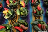 Bowls of chiles