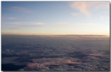 Window above the clouds - Singapore to New Delhi