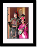 Wearing Chinese Officer and Tang Dynasty Costume