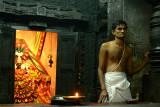 Priest in temple