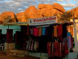 Shiva cloth shop Hampi