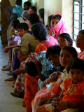 Waiting to see a doctor primary healthcare clinic