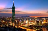 Taipei 101 at Sunset