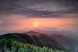 Mt. Wu-Fen at Sunrise
