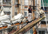 Tall ship's races at Toulon