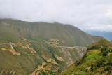 The breathtaking landscape around Uchucmarca