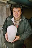 Uchucmarca museum. Artefact found in Shuenden.