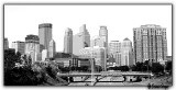 Minneapolis Skyline in Black and White