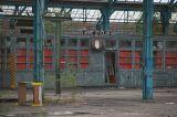 The abandoned locomotive depot