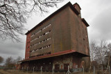 The abandoned grain storage