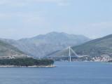 Sailing Away from Dubrovnik, Croatia