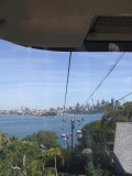 Cablecar ride up to Taronga Zoo