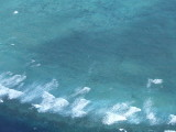 Helicopter View of the Great Barrier Reef