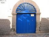 Blue Doors in Cuzco --> a series