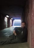 Self Portrait in Tunnel